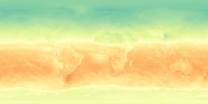 Net Radiation (1 month)   NASA