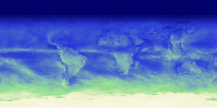Reflected Shortwave Radiation (1 month) | NASA