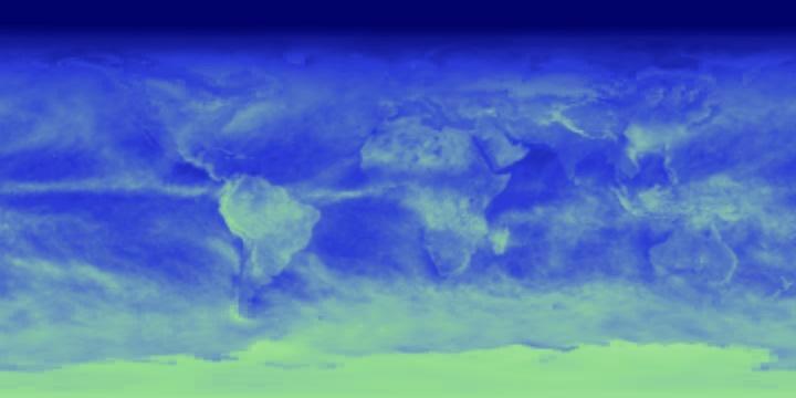 Reflected Shortwave Radiation (1 month) | NASA