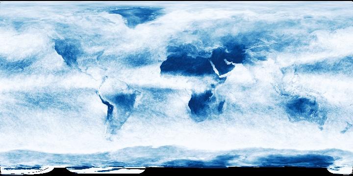Cloud Fraction (1 month - Terra/MODIS)   NASA