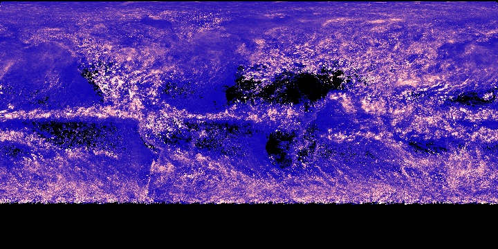 Cloud Water Content (1 month - Aqua/MODIS) | NASA