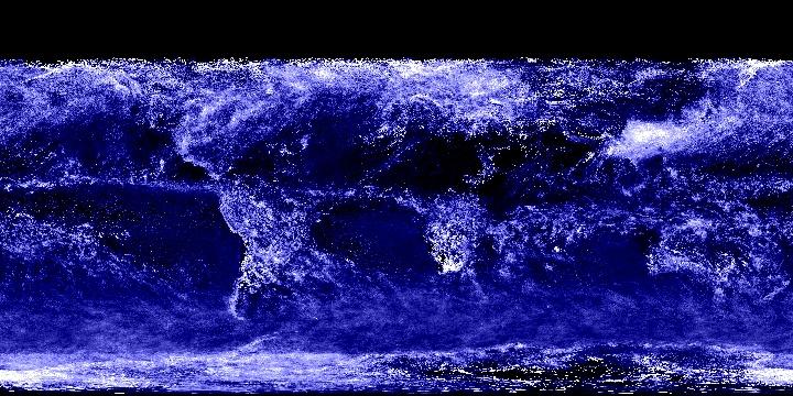 Cloud Optical Thickness (1 month - Aqua/MODIS) | NASA