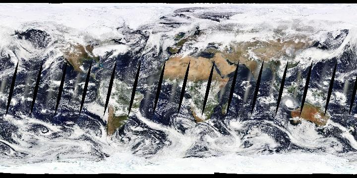 True Color (1 day - Terra/MODIS Rapid Response)   NASA