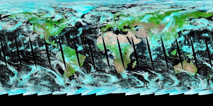 False Color (1 day - Aqua/MODIS Rapid Response)   NASA