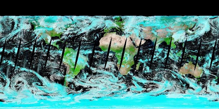 False Color (1 day - Terra/MODIS) | NASA