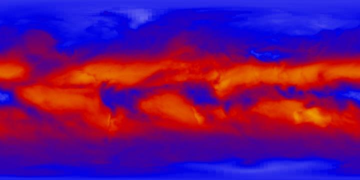 Outgoing Longwave Radiation (1 month) | NASA