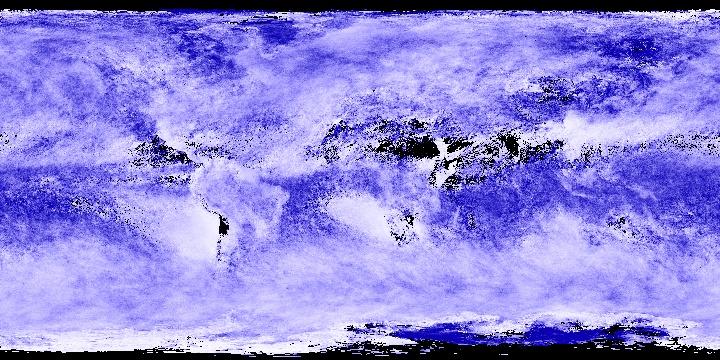 Cloud Particle Radius (1 month - Terra/MODIS)   NASA