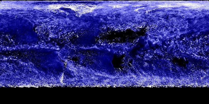 Cloud Optical Thickness (1 month - Terra/MODIS) | NASA