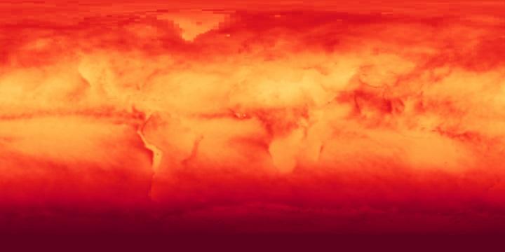 Solar Insolation (1 month)   NASA