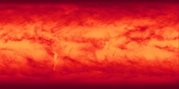 Solar Insolation (8 day)   NASA