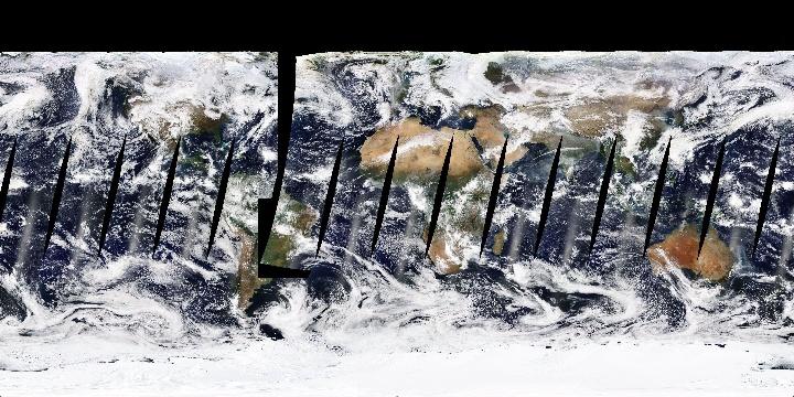 True Color (1 day - Terra/MODIS)   NASA