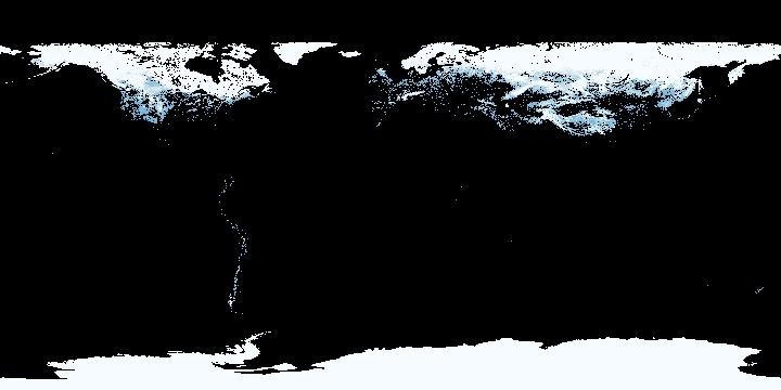 Snow Cover (1 month - Terra/MODIS)   NASA