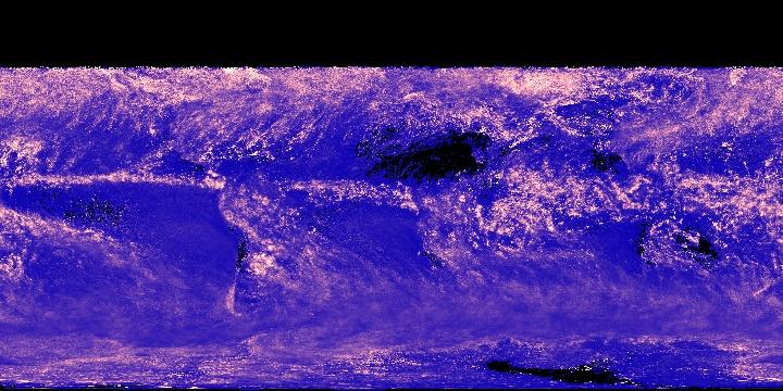 Cloud Water Content (1 month - Terra/MODIS)   NASA