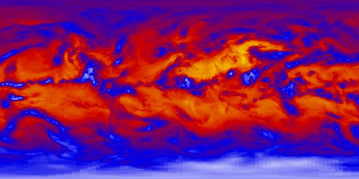 Outgoing Longwave Radiation (1 day)   NASA