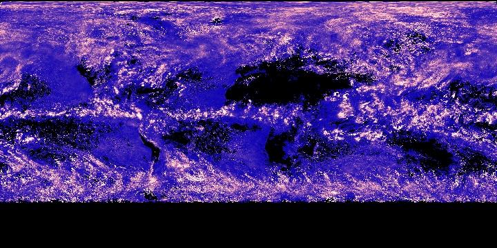 Cloud Water Content (8 day - Terra/MODIS)   NASA