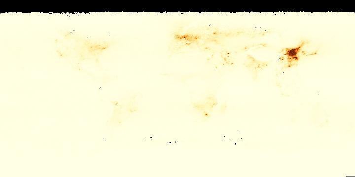 Nitrogen Dioxide (1 month)   NASA
