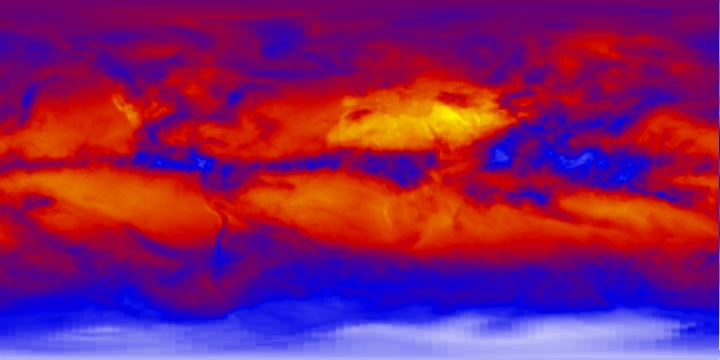 Outgoing Longwave Radiation (8 day) | NASA