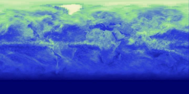 Reflected Shortwave Radiation (8 day) | NASA