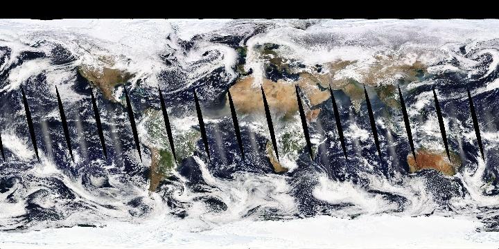 True Color (1 day - Aqua/MODIS)   NASA