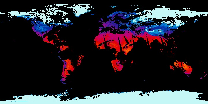 Land Surface Temperature [Night] (1 day - Terra/MODIS) | NASA