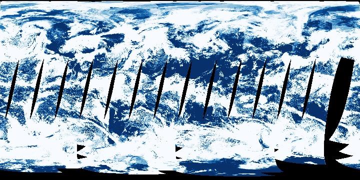 Cloud Fraction (1 day - Terra/MODIS)   NASA