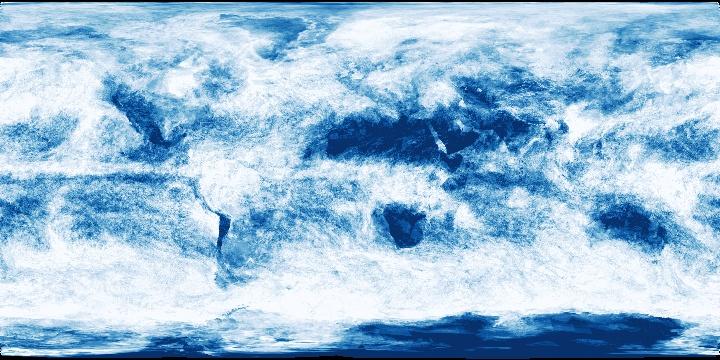 Cloud Fraction (8 day - Terra/MODIS)   NASA