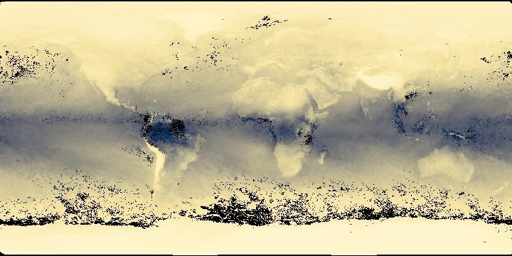 Water Vapor (1 month - Terra/MODIS) | NASA
