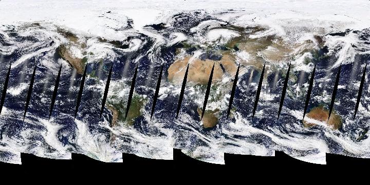True Color (1 day - Terra/MODIS) | NASA