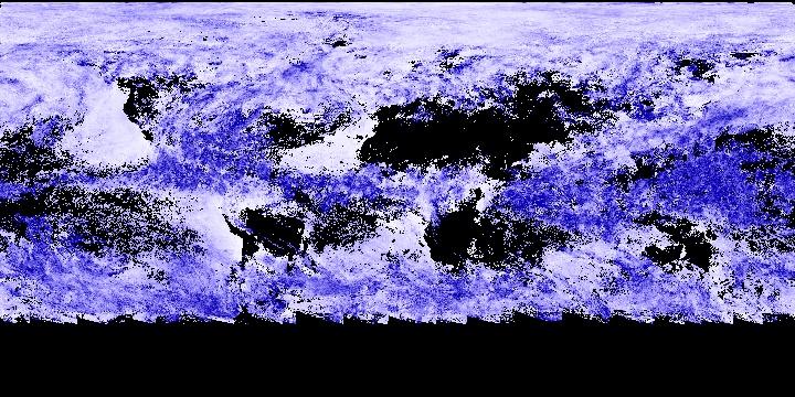 Cloud Particle Radius (8 day - Terra/MODIS)   NASA