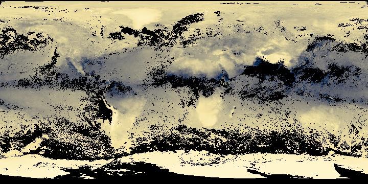 Water Vapor (8 day - Terra/MODIS)   NASA