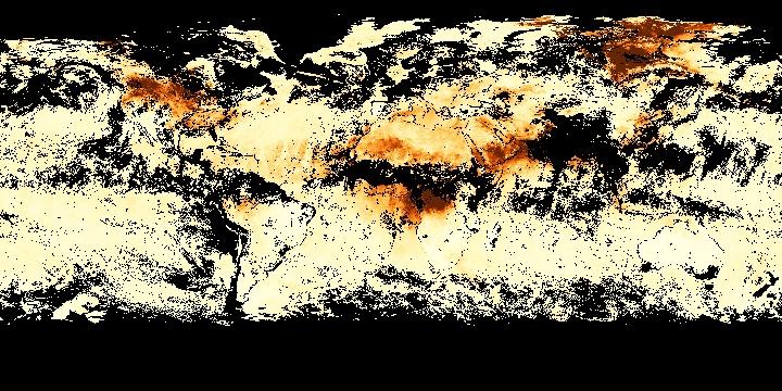 Aerosol Optical Thickness (8 day - Terra/MODIS) | NASA