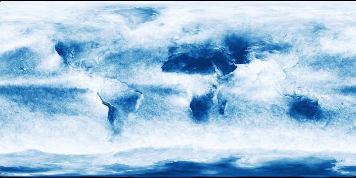 Cloud Fraction (1 month - Aqua/MODIS)   NASA