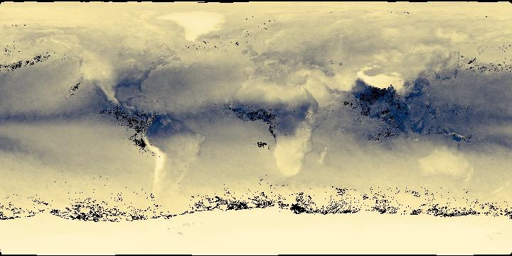 Water Vapor (1 month - Aqua/MODIS) | NASA