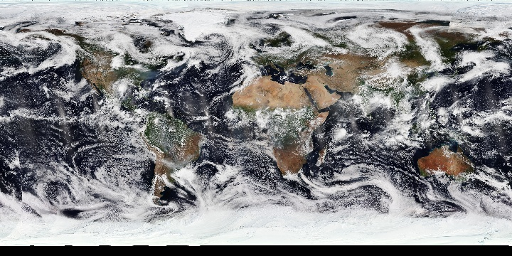 True Color (1 day - NPP/VIIRS)   NASA