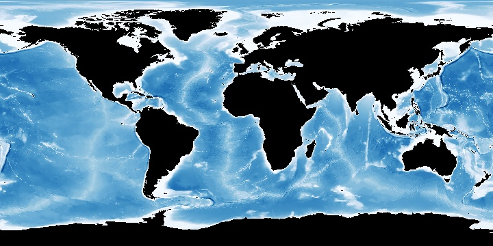 Bathymetry (GEBCO) | NASA